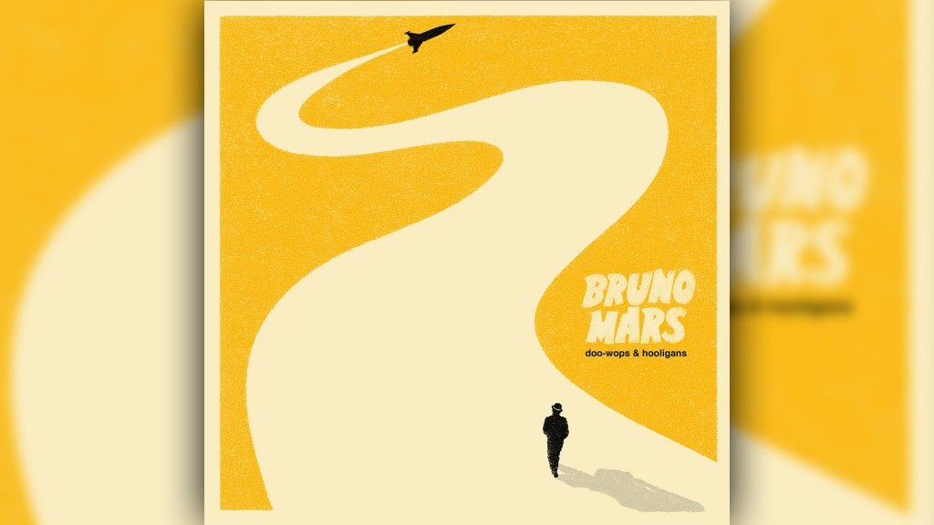 Bruno Mars Album doo-wops & hooligans (Foto: Warner Music)