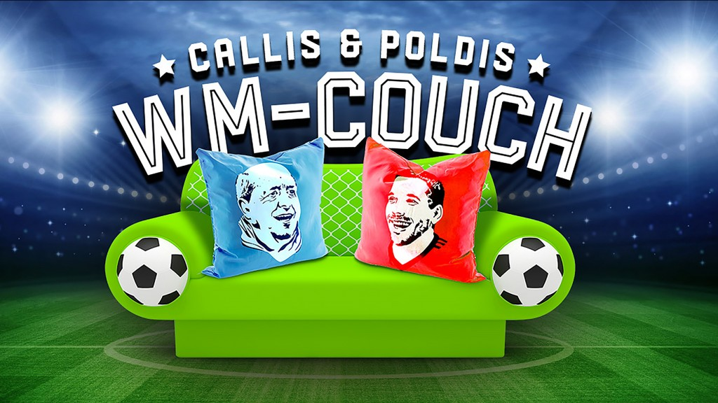 Callis & Poldis WM-Couch (Bild: spotting images)