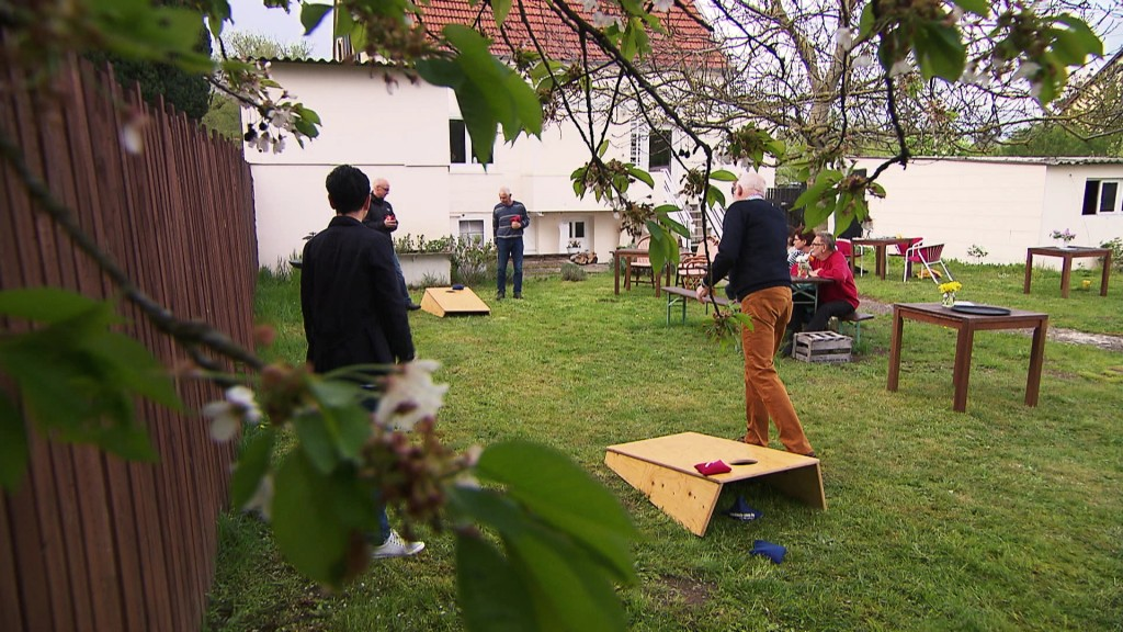 Foto: Cornhole-Meisterschaft in Quierschied