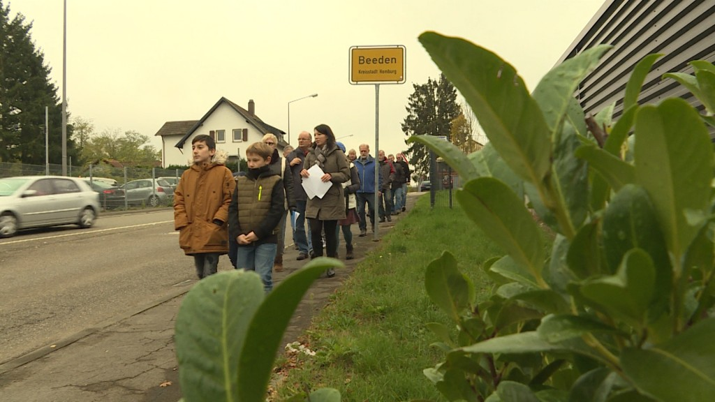 Protest in Beeden