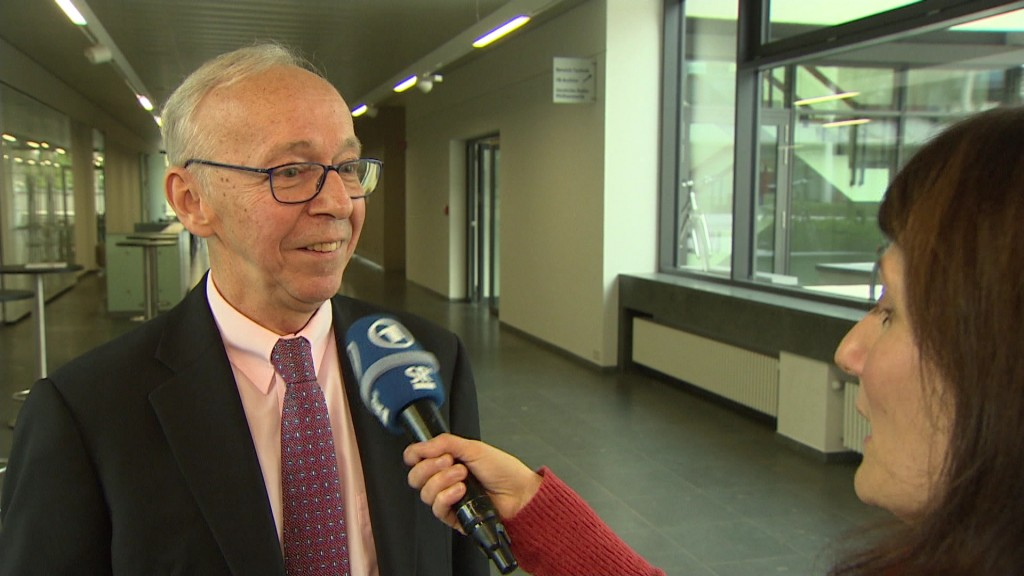Foto: Dieter Dörr im Interview