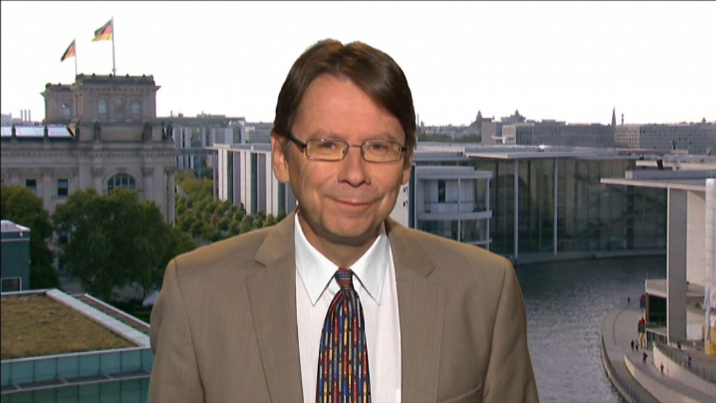 Parteienforscher Prof. Uwe Jun (Foto: SR)