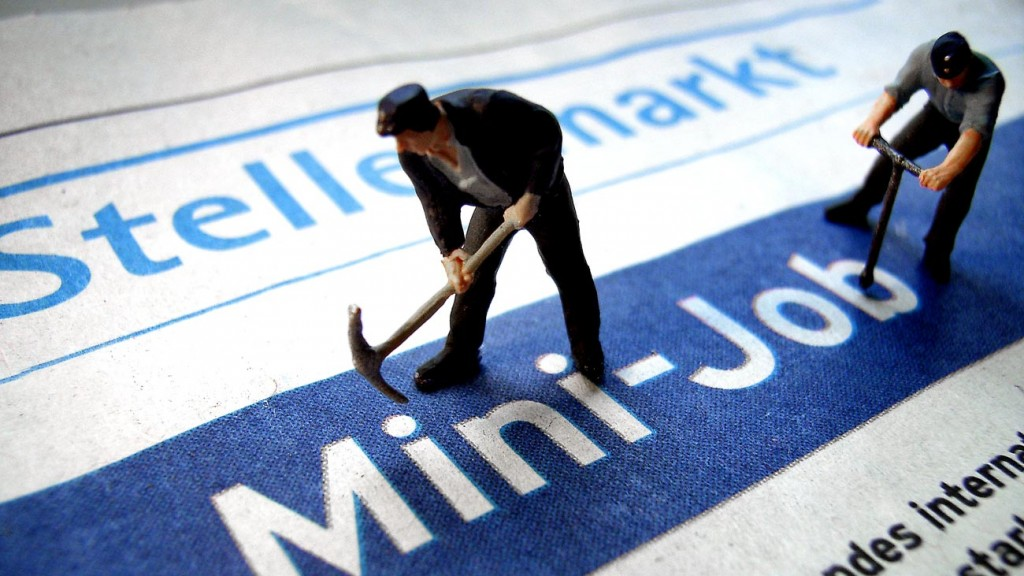 Mini-Job (Foto: dpa)