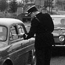 Grenzkontrolle in den Fünfziger Jahren