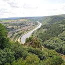 Blick auf Saarhölzbach (Foto: Saarschleife Touristik)