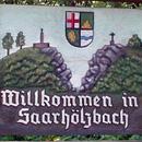 Ortsschilde Saarhölzbach (Foto: Hans-Jürgen Leinen)