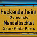 Ortsschild Heckendalheim