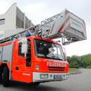 Feuerwehr - Leiterwagen (Foto: dpa)