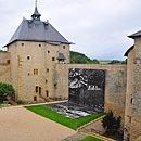Schloss Malbrouck - Innehof (Foto: Beate Heitz)