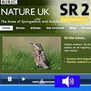 Webseite BBC Springwatch