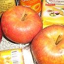 Zutaten für einen leckeren Apfelkuchen