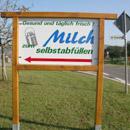 Milchtankstelle (Foto: dpa)