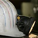 Bergbau-Helm (Foto: dpa)