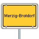 Ortsschild Brotdorf