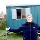 Janina Jung und ihr Bauwagen (Foto: Pasquale d\\\'Angiolillo)