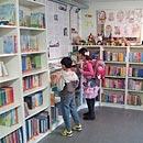 Die Schulbibliothek (Foto: Manfred Spoo)