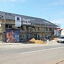 Die Baustelle Seniorenwohnanlage (Foto: Manfred Spoo)