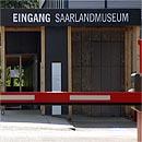 Der Eingangsbereich des Saarlandmuseums
