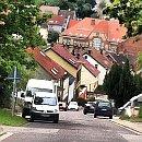 Die Friedensstraße in Friedrichsthal
