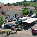 Dorfplatz Düppenweiler (Foto: Gemeinde Beckingen)