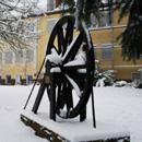 Bergbaudenkmal in Hassel (Foto: D. Wirth)