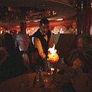 Gala-Diner mit Eisbombe