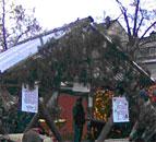 Stand auf dem Wiebelskirchener Weihnachtsmarkt