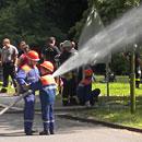 Jugendfeuerwehr beim Training (Foto: SR)