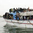 Bootsflüchtlinge (Foto: dpa)