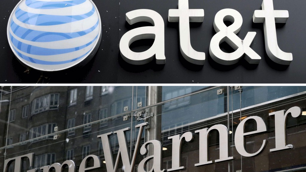 at&t / Time Warner (Collage: dpa)