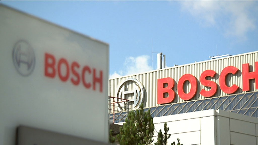 Bosch in Homburg (Foto: SR)
