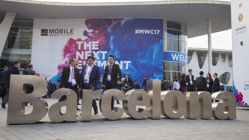 Der Mobile World Congress 2017 in Barcelona (Foto: dpa)
