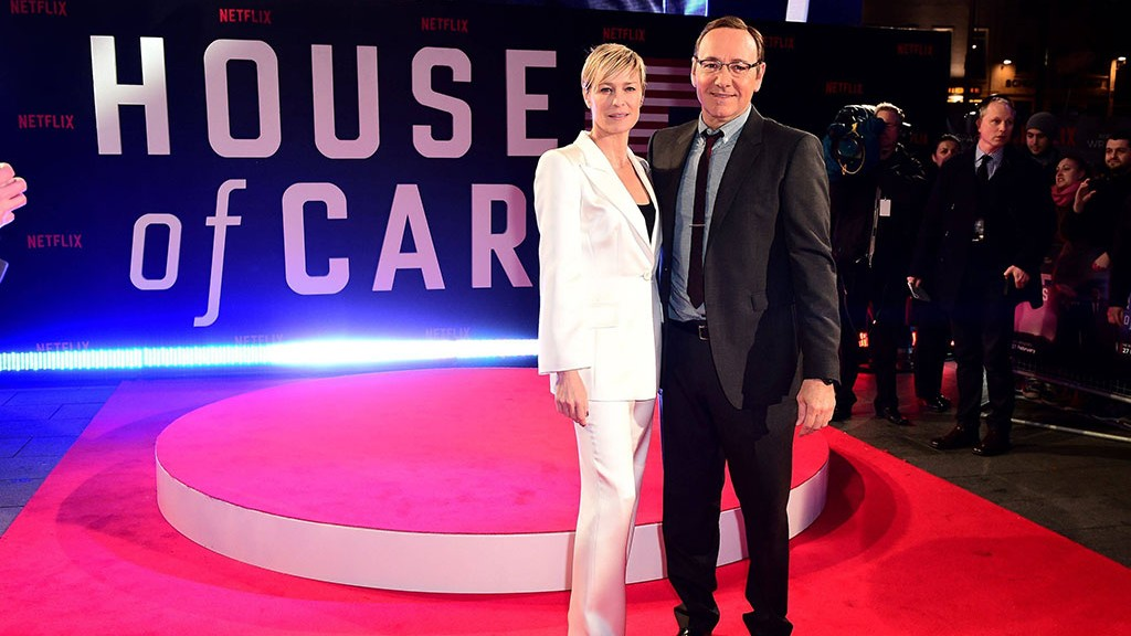 Die 'House Of Cards'-Darsteller Robin Wright und Kevin Spacey  (Foto: imago/PA Images)