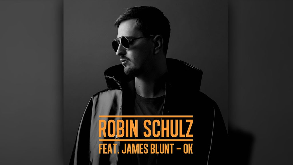 CD-Cover Robin Schulz feat. James Blunt - OK (Foto: Warner Music)