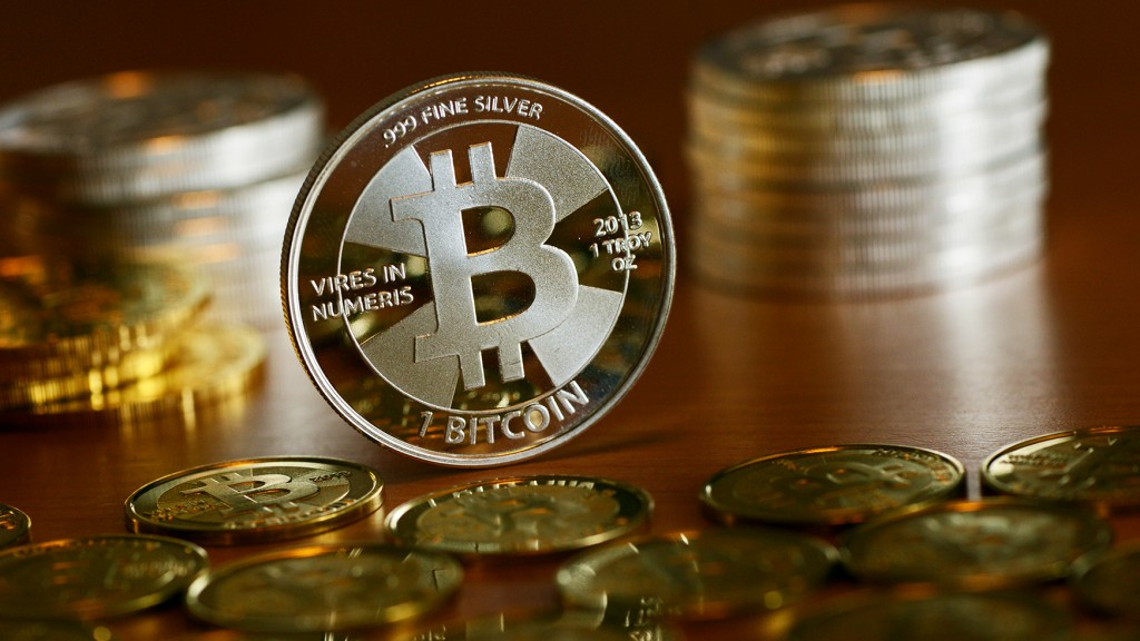 Illustration: Bitcoin als Münze (Foto: dpa)