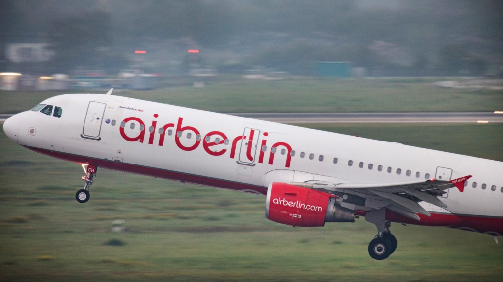 Air Berlin Maschine (Foto: dpa)