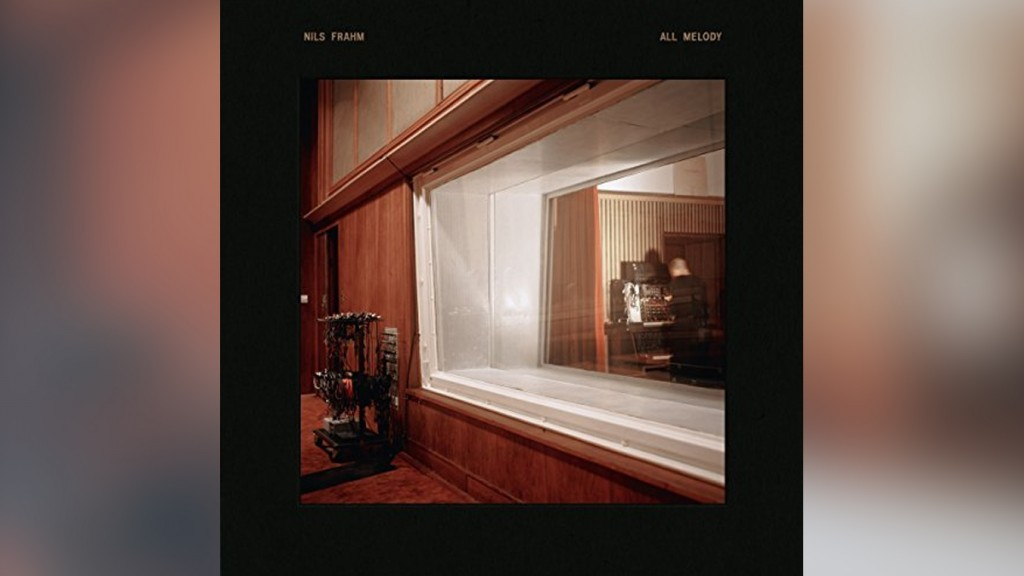 CD-Cover: Nils Frahm - All Melody (Foto: Musikverlag)