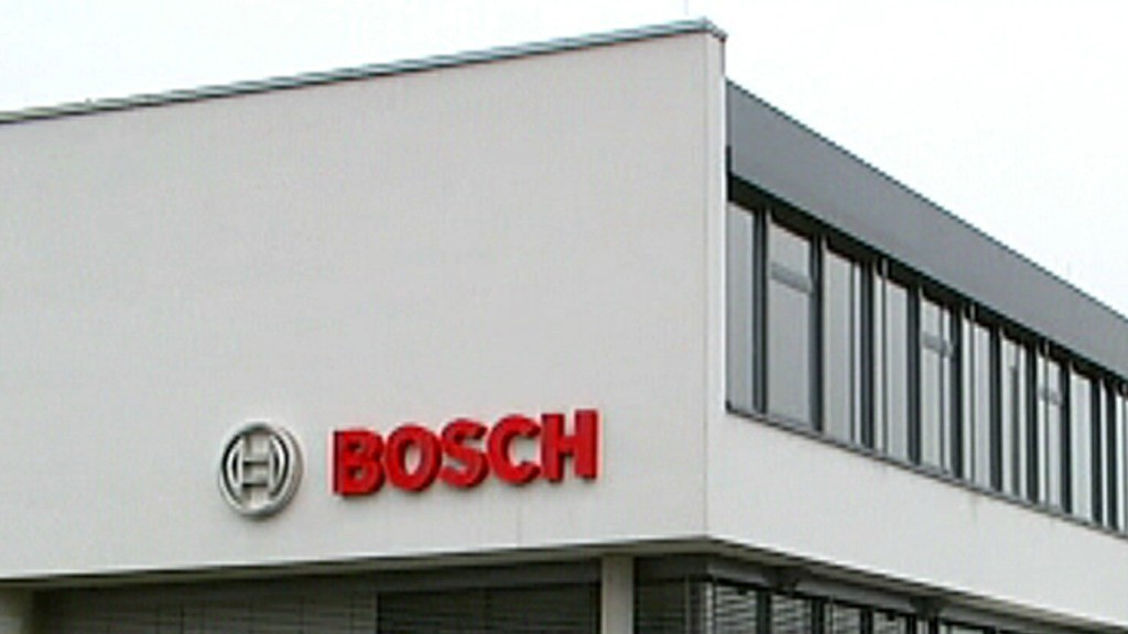 Bosch in Homburg (SR)