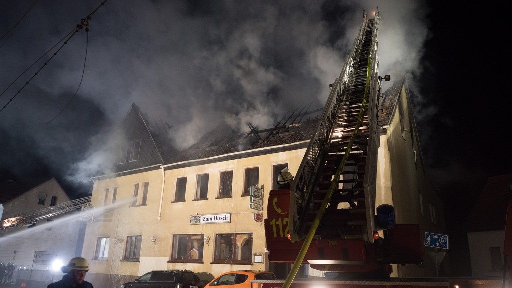 Wohnhausbrand in Wiebelskirchen (Foto: Pasquale D'Angiolillo)