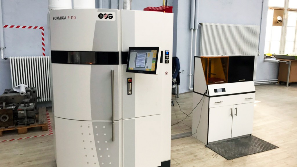 3D-Druck, Fabb-It Laser Sinter (Foto: Michael Marek)