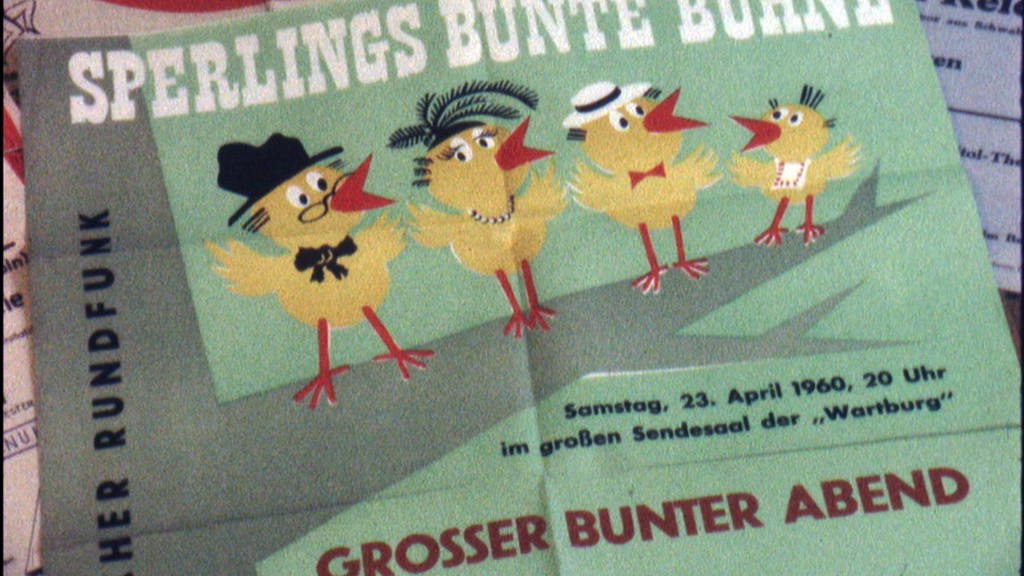 Foto: Plakat Sperlings Bunte Bühne