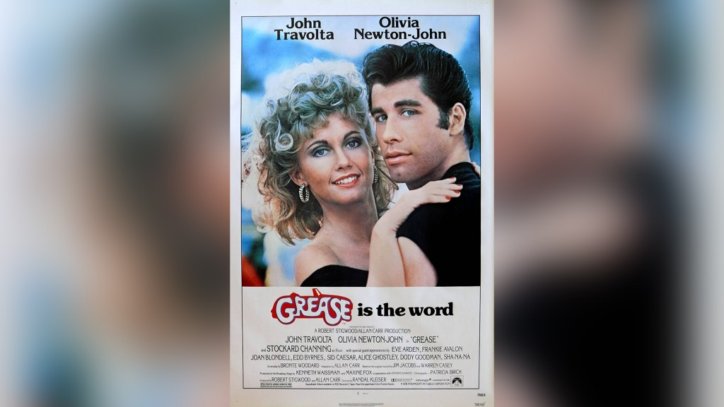 Foto: Plakat Grease (imago/Cinema Publishers Collection)