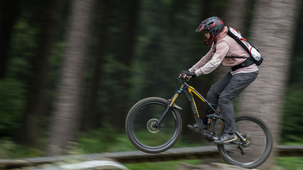 Foto: Mountainbiker am Eberskopf