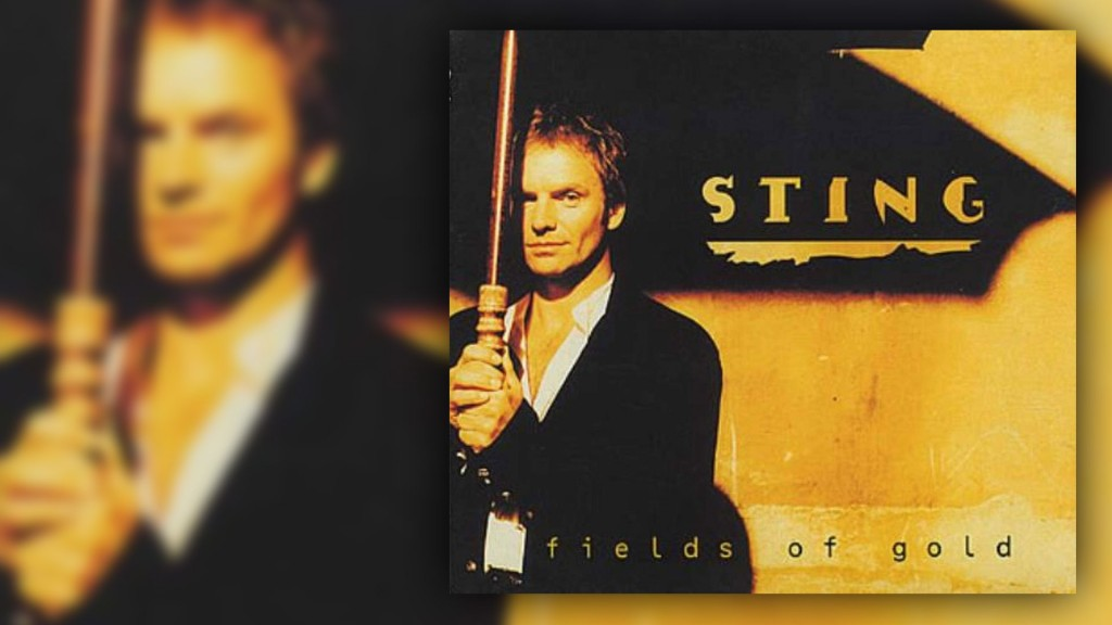 Sting - Fields of gold (Bild: A&M Records)