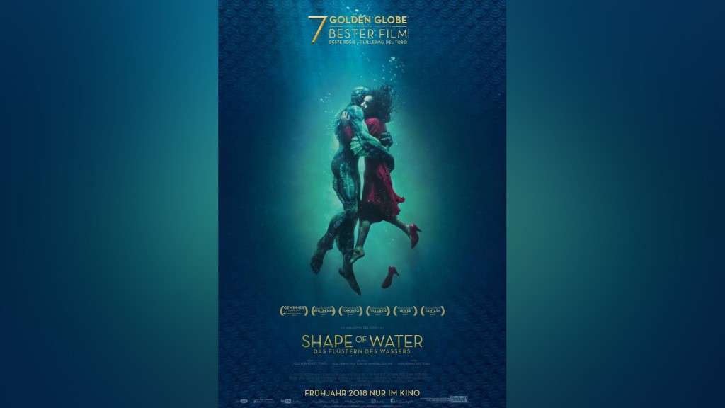 Plakat: Shape of Water (Foto: Filmverleih)