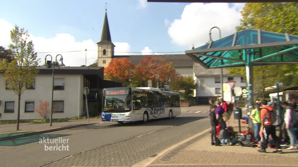 Foto: Bus in Wadern