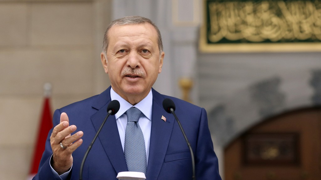 Recep Tayyip Erdogan (Foto: dpa / picture alliance / Pool Presidential Press Service/AP)