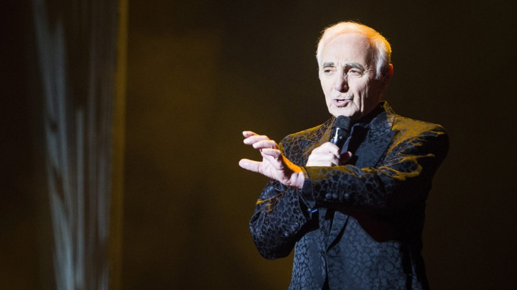 Charles Aznavour (1924 - 2018) - Foto: dpa/EFE/Luca Piergiovanni
