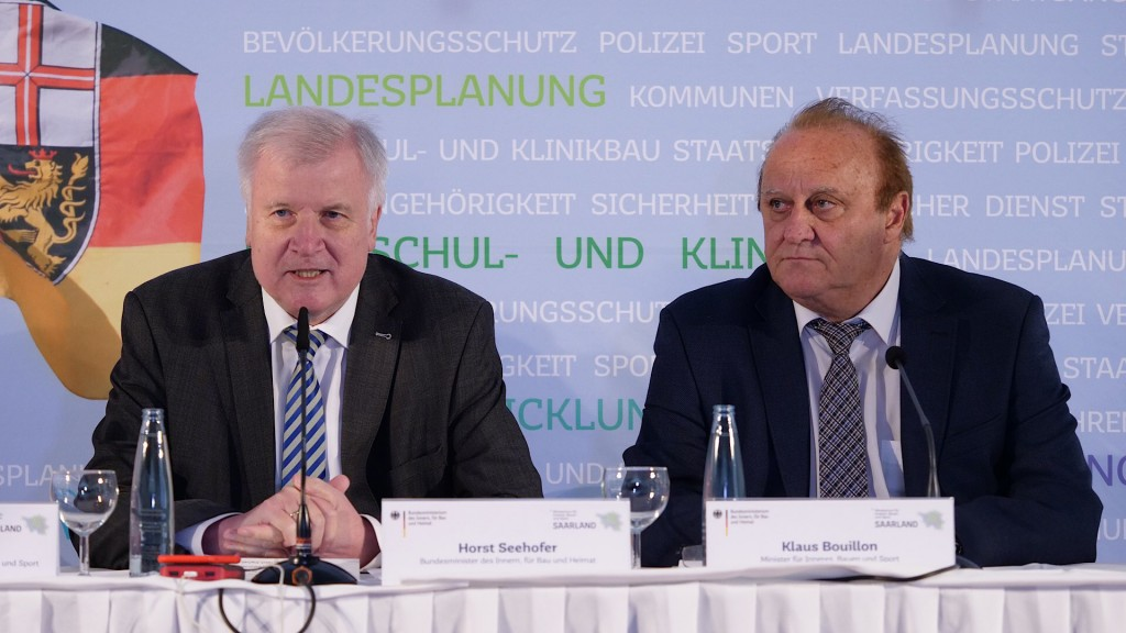 Sportminister Bouillon leitet die Konferenz, Gast wird auch Bundessportminister Seehofer sein (Foto: Pasquale D'Angiolillo)