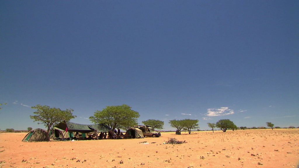 Foto: Lager in Namibia